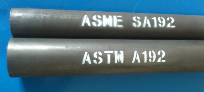 ASTM A192 kattilan putki