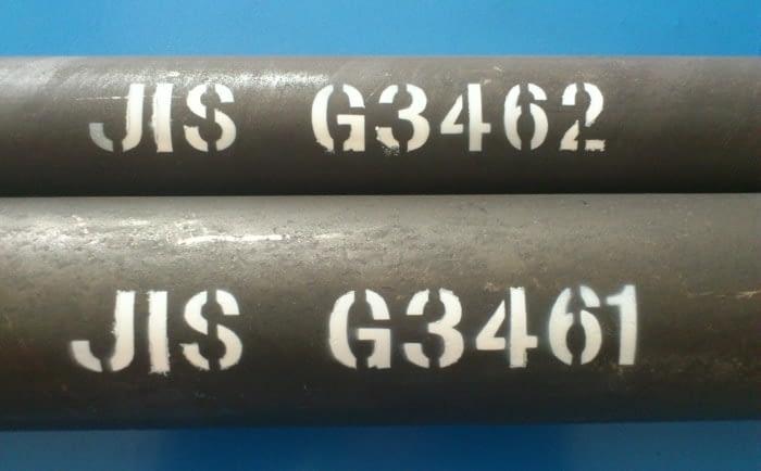 JIS G3461 kattilan putki